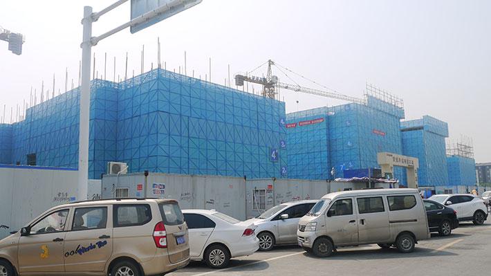 荣盛华筑项目工程用爬架网